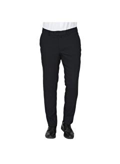 White Stone Pamuklu Yan Cep Kumaş Pantolon Desenli